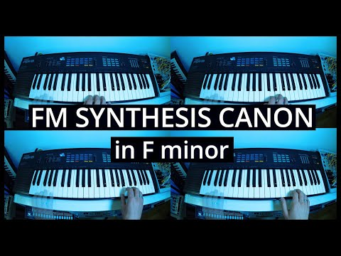 FM synthesis canon in F minor [Yamaha PSR-16] from YouTube · Duration:  1 minutes 58 seconds