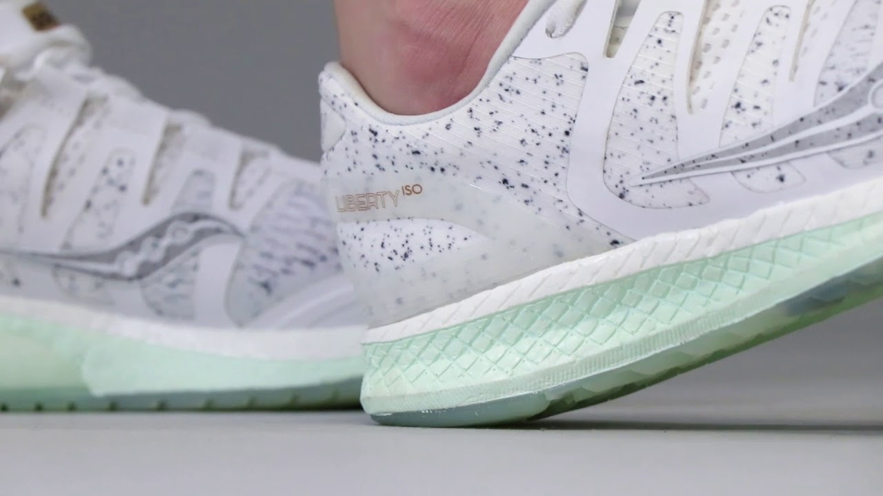 Saucony White Noise | Liberty ISO Women's | On The Foot |