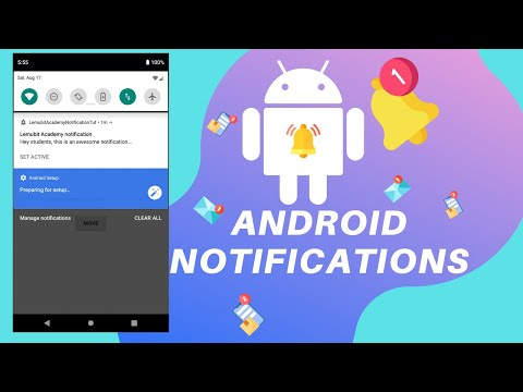 #3 Display Android Notification At A Particular Time With Alarm Manager