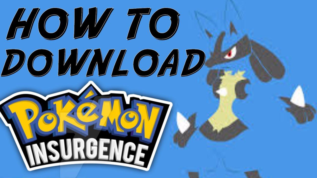 pokemon insurgence controls mac