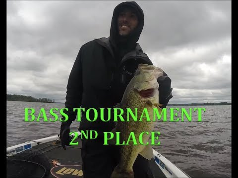 POTOMAC RIVER BASS TOURNAMENT 2ND PLACE