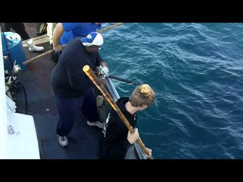 Big Jamaica Deep Sea Fishing Yellowfin Tuna