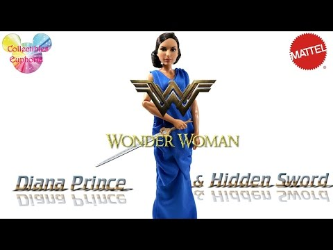 Mattel : Wonder Woman 2017 Doll Review | Diana Prince and Hidden Sword Doll