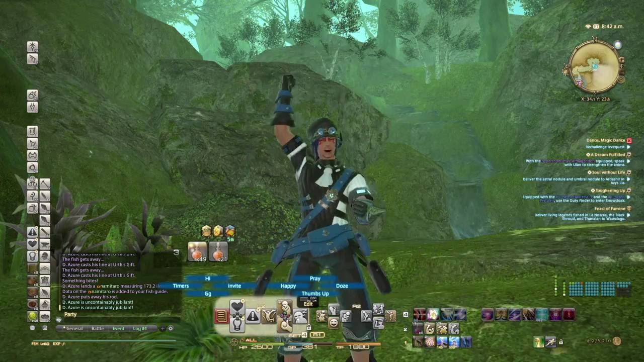 FINAL FANTASY XIV Namitaro thai masamune - YouTube