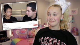 REACTING TO DAVID AND LIZA'S  BREAK UP VIDEO.