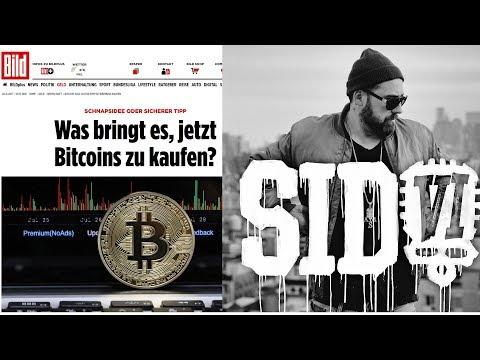 Bild und Sido schreiben über Bitcoin – Platzt die Blase bald oder nun erst recht kaufen?!