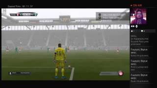FIFA 16 livestreaming Olympiakos Panathinaikos