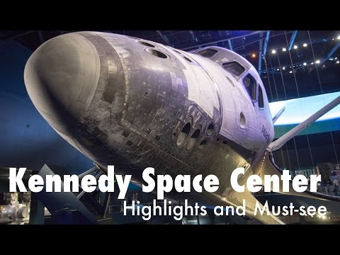 Kennedy Space Center Highlights and Must See Vlog