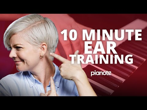 How To Train Your Ears In 10 Minutes 👂🎵🎶 (Beginner Piano Lesson)