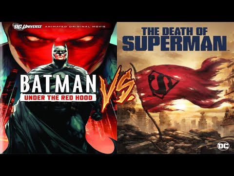 DC Animated Movie Tournament- Under The Red Hood Vs Death Of Superman