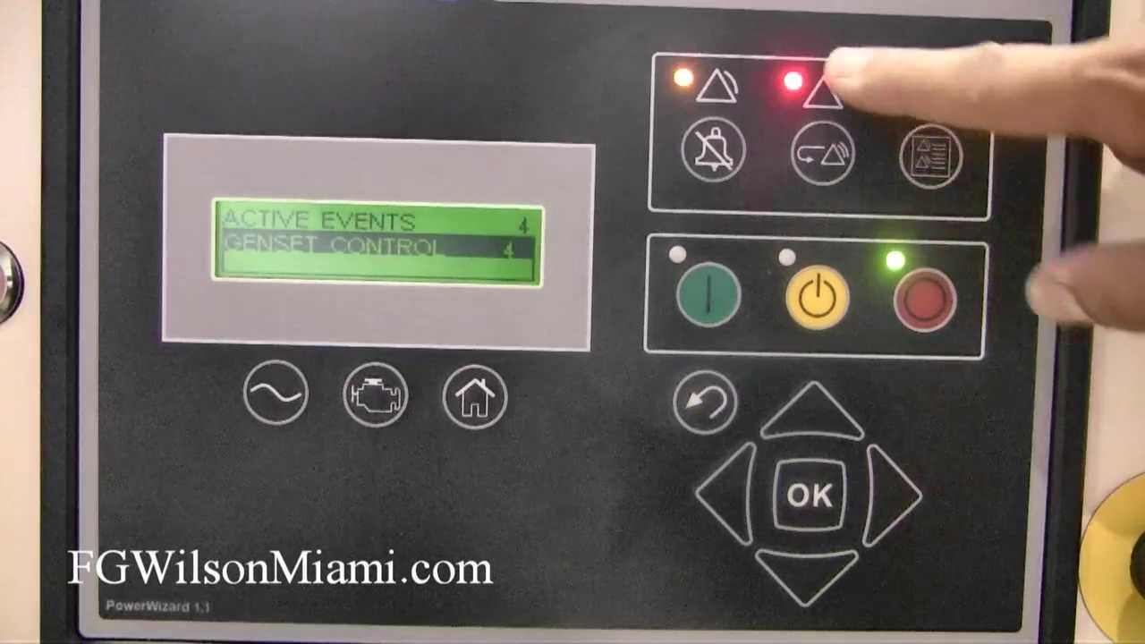 FG Wilson Miami: How to Reset the Emergency Stop Alarm on