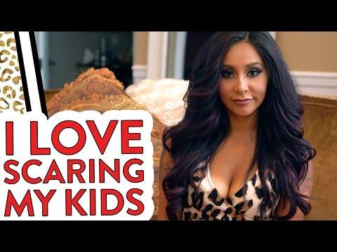 "Nicole ""Snooki"" Mom Confession: I Love Scaring My Kids"