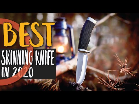 Best Skinning Knife In 2020 – For Your Next Hunting Trip!