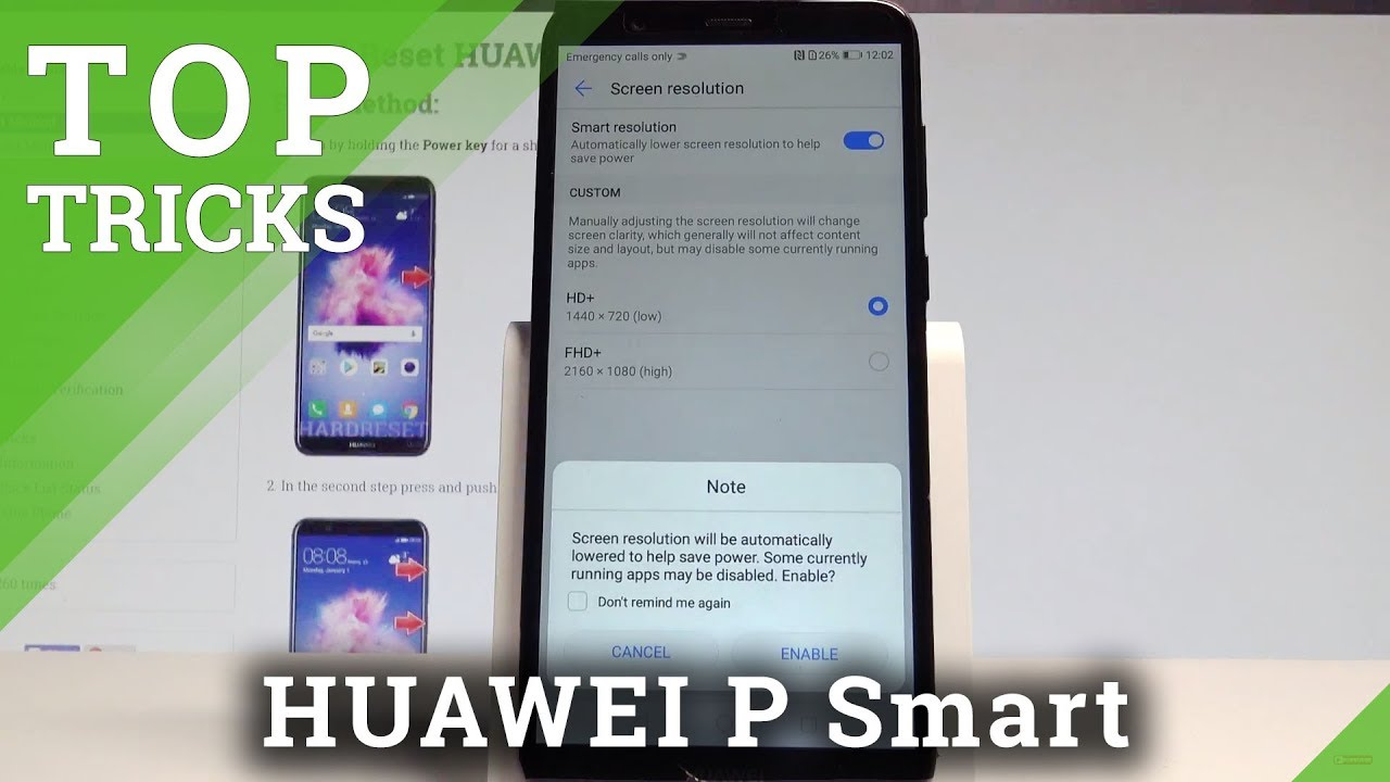 free shipping fe40a db32c TOP TRICKS HUAWEI P Smart - The Best Tips / Helpful Settings |HardReset.Info