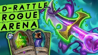 INCREDIBLE Deathrattle Rogue Arena | Rastakhan