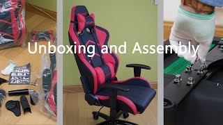 Ak Racing Player Gaming Esports Chair Unboxing And Assembly