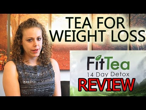 Tea For Weight Loss - Fit Tea 14 Day Detox Natural Supplement To Help Lose Weight Review