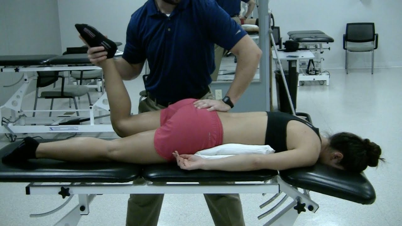 femoral nerve tension test - youtube, Muscles
