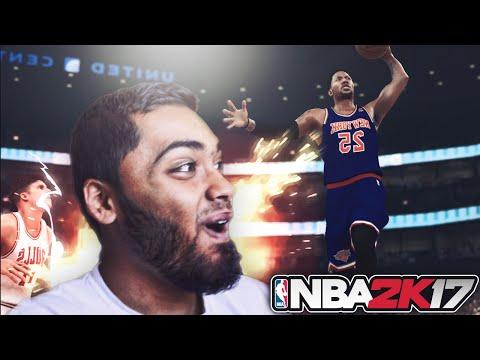 NBA 2k17 DERRICK ROSE MURDERS THE CHICAGO BULLS GAMEPLAY! BULLS vs NEW YORK KNICKS THRILLER!