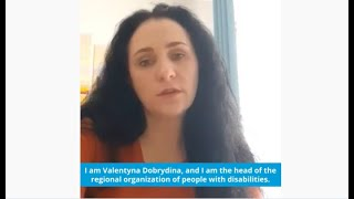"Head of the NGO ""Leader"" Valentyna Dobrydina on effects of COVID-19"