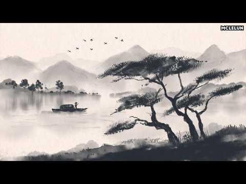 Photoshop Inktober 2018 - Chinese Ink Wash Painting 水墨畫