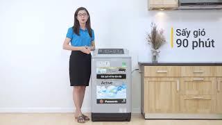 Máy giặt Panasonic 9 kg NA F90A4GRV Mạnh mẽ trong từng chi tiết Điện máy XANH