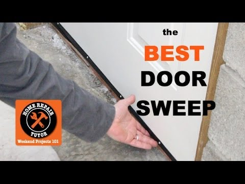 Best Door Sweep for Exterior Doors -- by Home Repair Tutor - YouTube
