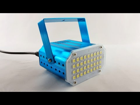 Review and How to of Glisteny Strobe 36 LED