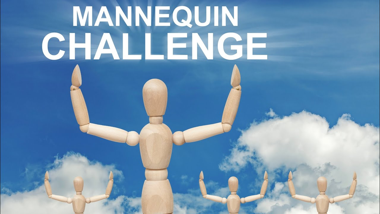 The threesome mannequin challenge