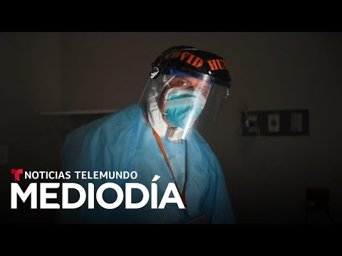 Este doctor latino lucha sin parar contra el COVID-19 | Noticias Telemundo