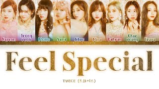 TWICE - Feel Special (트와이스 - Feel Special) [Color Coded Lyrics/Han/Rom/Eng/가사]