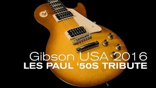 Baixar Gibson 2016 Les Paul '50s Tribute Overview  •  Wildwood Guitars