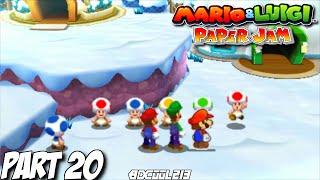 Mario and Luigi: Paper Jam Gameplay Walkthrough Part 20 - Nintendo 3DS Let