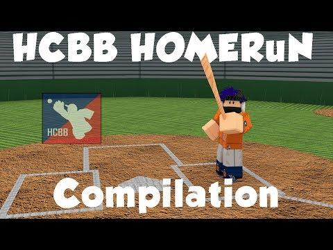 Insane League Homerun Compilation Part 1 Hcbb Roblox Youtube