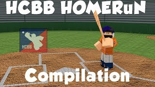 INSANE LEAGUE HOMERUN COMPILATION PART 1| HCBB (ROBLOX)