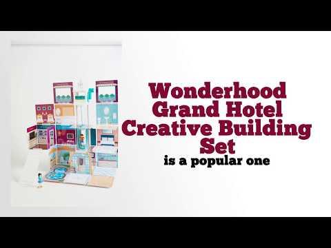 Wonderhood Grand Hotel Creative Building Set Review by EpicKidsToys com