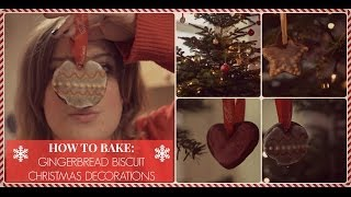 How To Bake: Gingerbread Biscuit Christmas Decorations Thumbnail