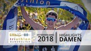 1. Bitburger 0,0% Triathlon-Bundesliga - Binz 2018: Highlights Damen