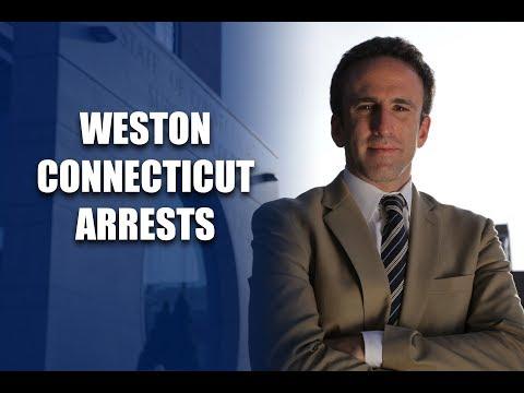 Weston Connecticut Arrests