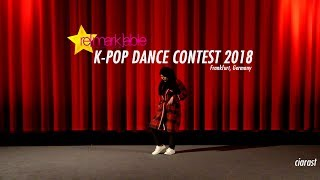 K-Pop Dance Contest 2018 - ciarast (Solo) - Frankfurt, Germany