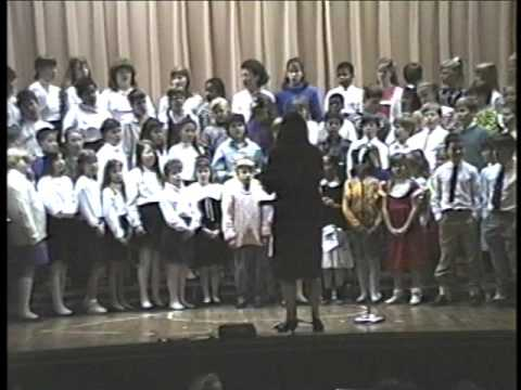 Lakeside and Holladay Elementary Schools Sing Together - March 1989