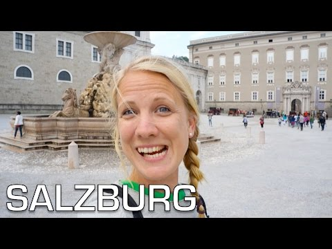 Salzburg fortress and Mozart - Austria roadtrip 01 | Travel Vlog