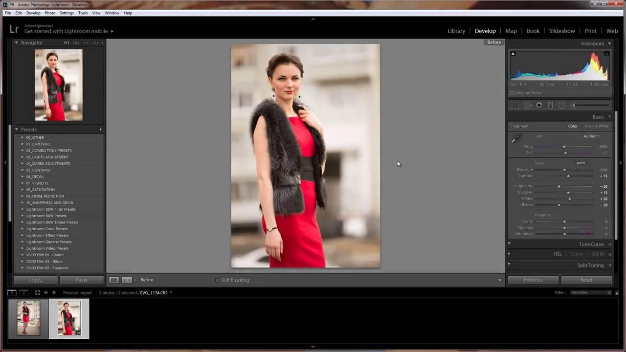 загрузка фото в лайтрум теряет цвет этого достаточно