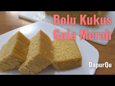 Resep Bolu Kukus Gula Merah Bolu Gula Jawa Youtube