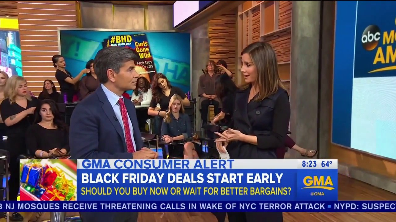 Good Morning America View Your Deal : Dealnews talks quot early black friday deals with good