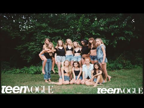 What Happens at Model Training Camp  Teen Vogue