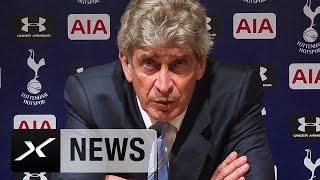 ManCity: Manuel Pellegrini hält an offensivem Stil fest | Tottenham Hotspur - Manchester City 0:1