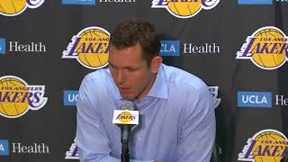 Luke Walton comments on Andre Ingram's debut
