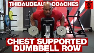 Chest Supported Dumbbell Row thumbnail