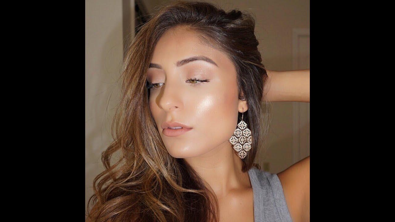 jennifer lopez glowing makeup tutorial youtube. Black Bedroom Furniture Sets. Home Design Ideas